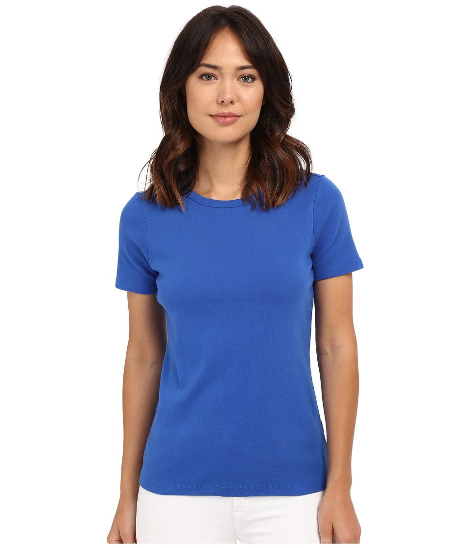 Pendleton - Short Sleeve Rib Tee (Pacific) Women's T Shirt