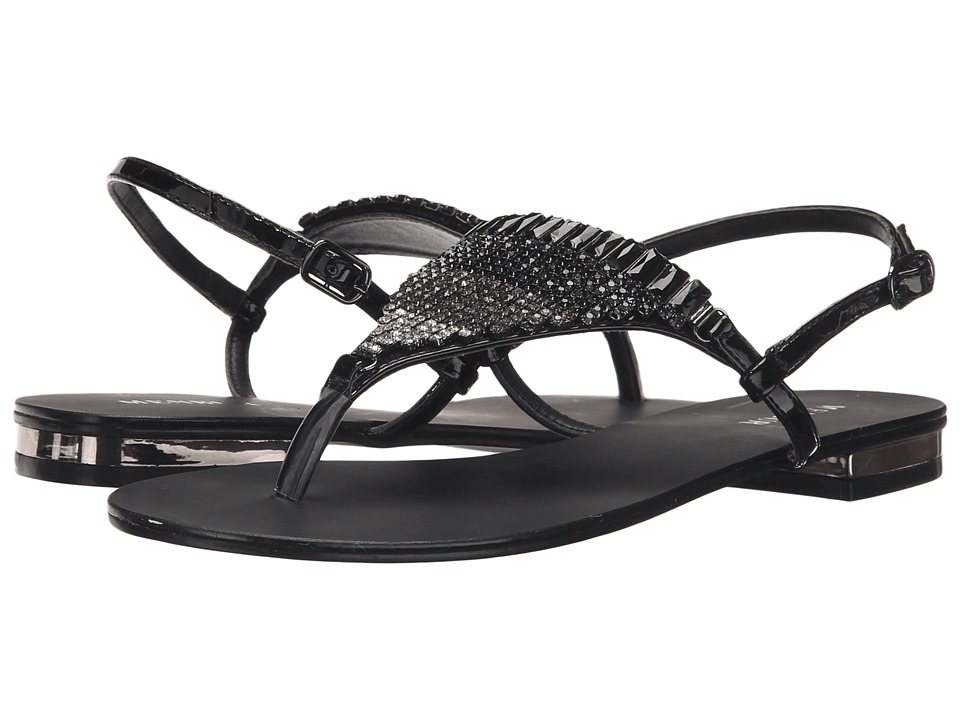 Menbur - Geranio (Black) Women's Dress Sandals