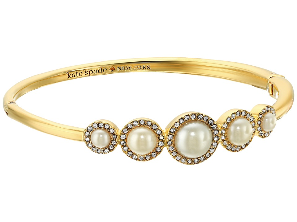 Kate Spade New York - Pearls of Wisdom Bangle (Cream Multi) Bracelet