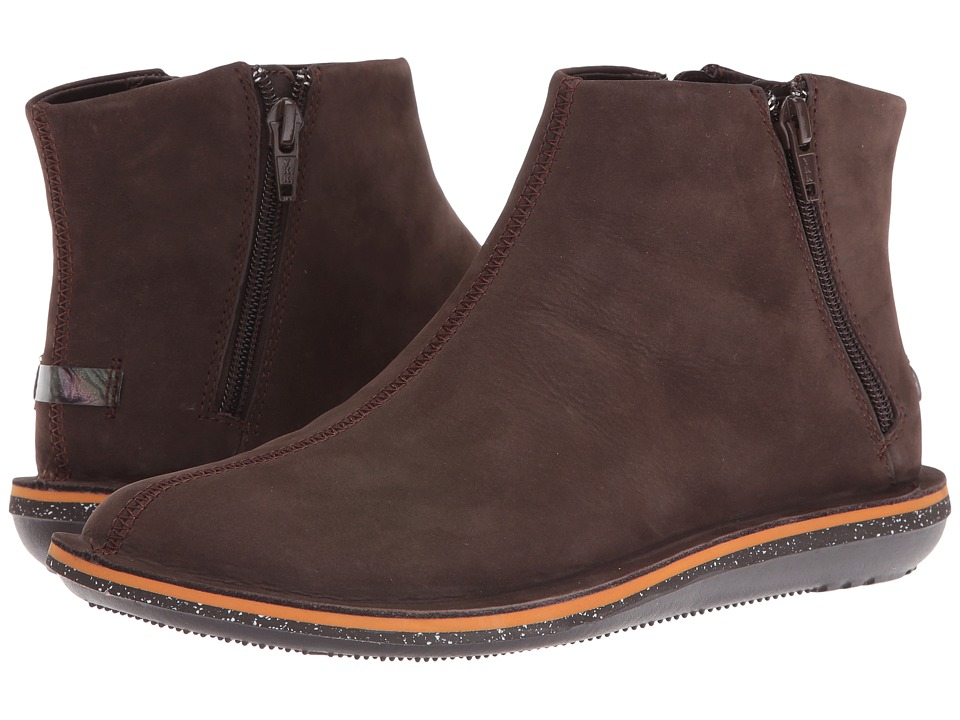 Camper - Beetle - 46613 (Brown 1) Women's Zip Boots