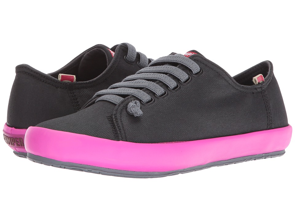 Camper - Borne - K200284 (Black) Women's Lace up casual Shoes