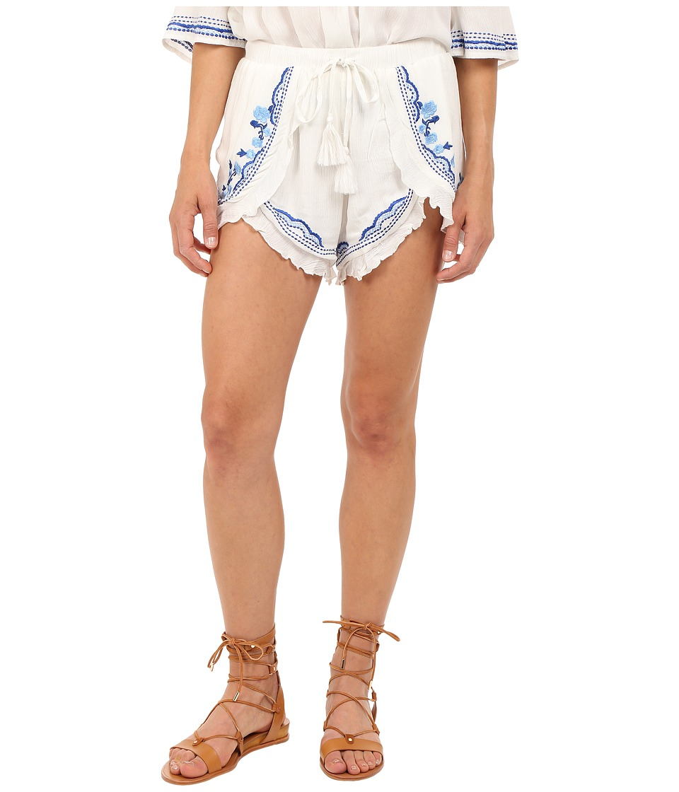 Lovers + Friends - Serene Shorts (Ivory) Women's Shorts
