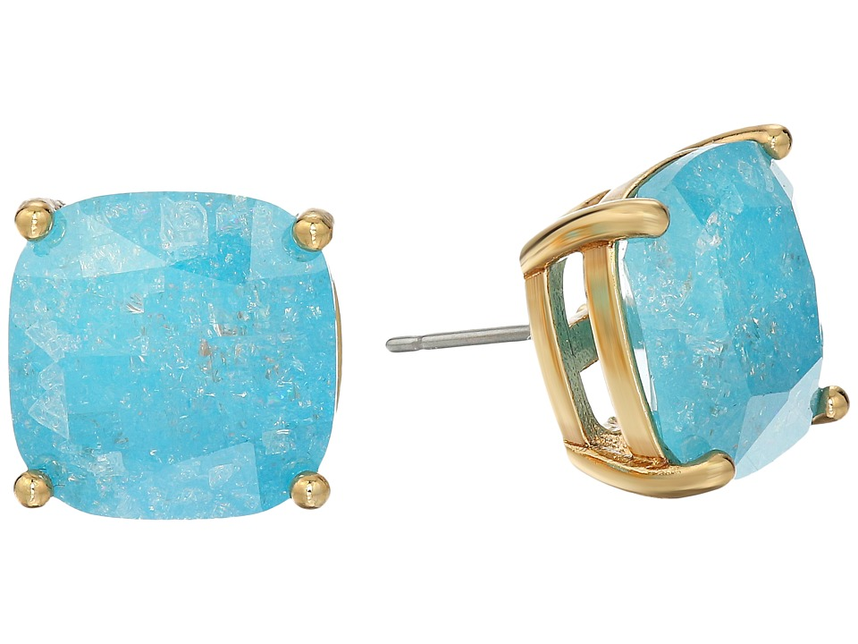 Kate Spade New York - Kate Spade Earrings Small Square Studs (Turquoise) Earring