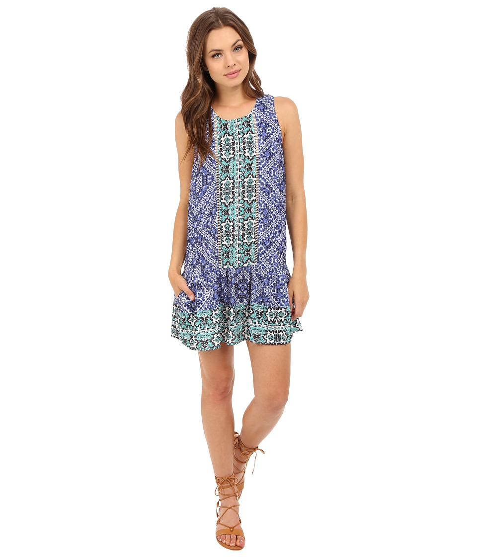 Lovers + Friends - I Heart Babydoll (Medina Scarf) Women's Dress