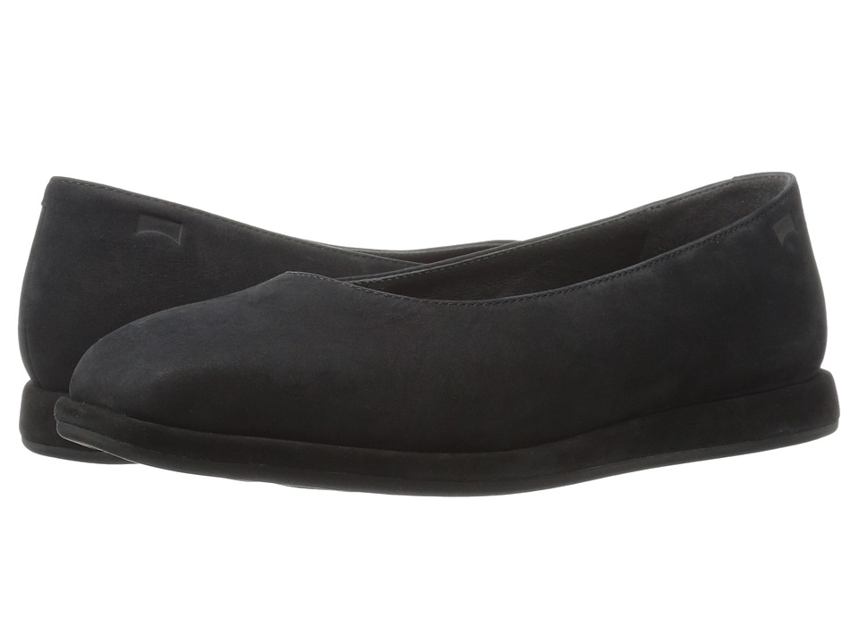 Camper - Fidelia - K200222 (Black) Women's Flat Shoes