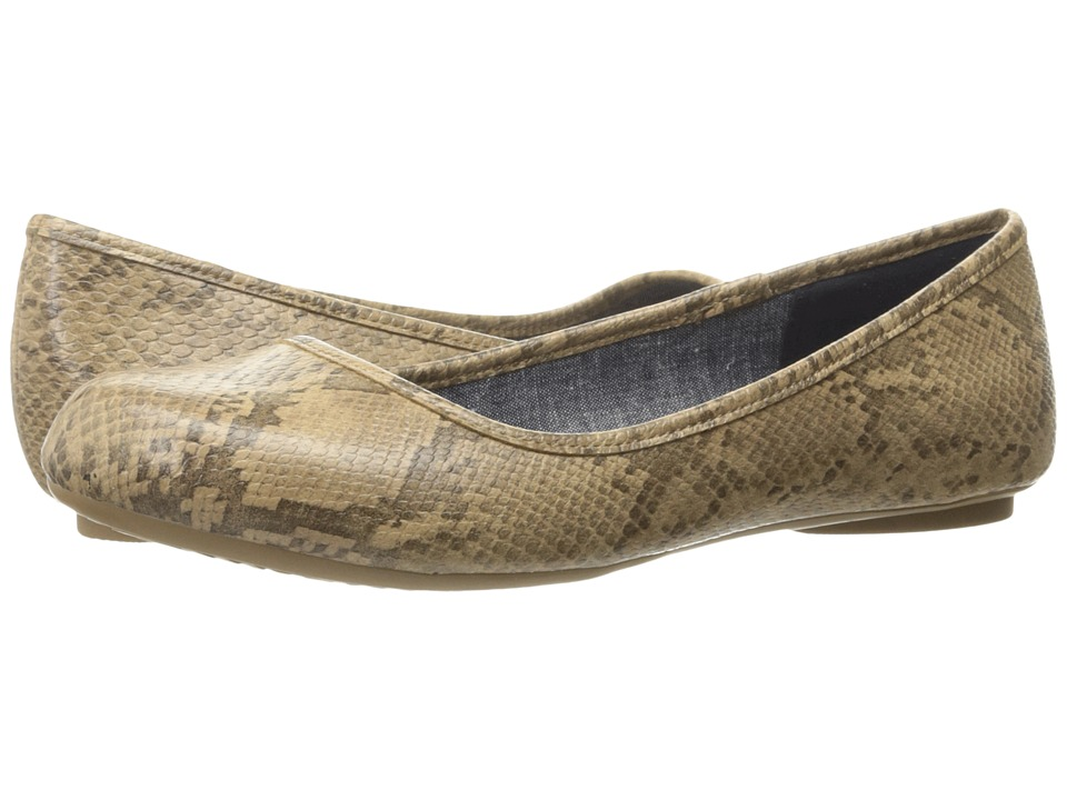 Dr. Scholl's - Friendly (Stucco Oppel Snake) Women's Flat Shoes