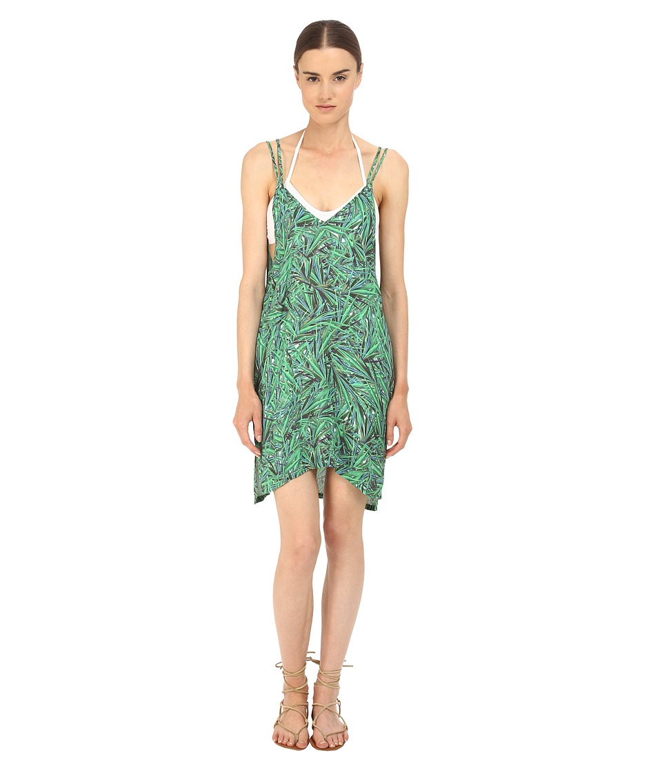 onia Audrey Cover-Up (Green Yucca Leaf) Women