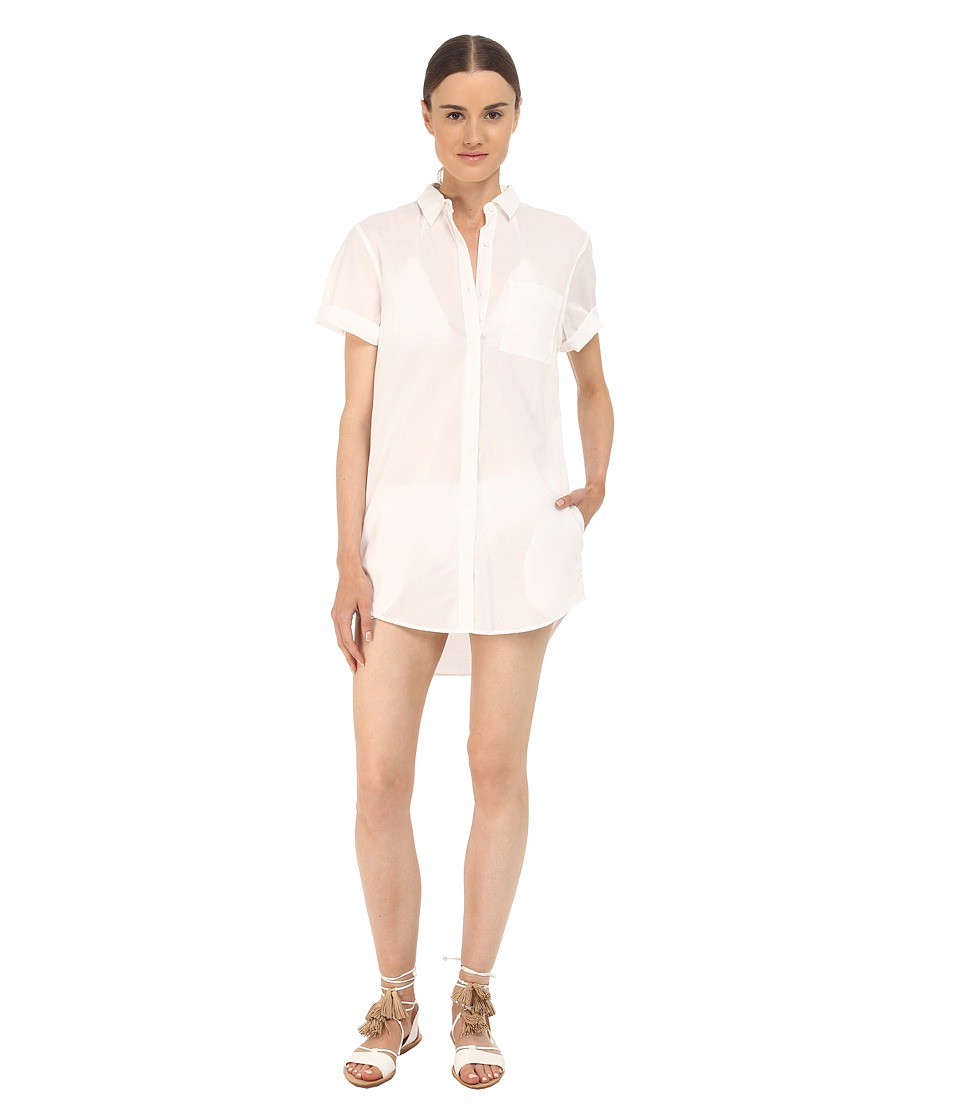 onia - Jesse Cover-Up (White) Women's Swimwear