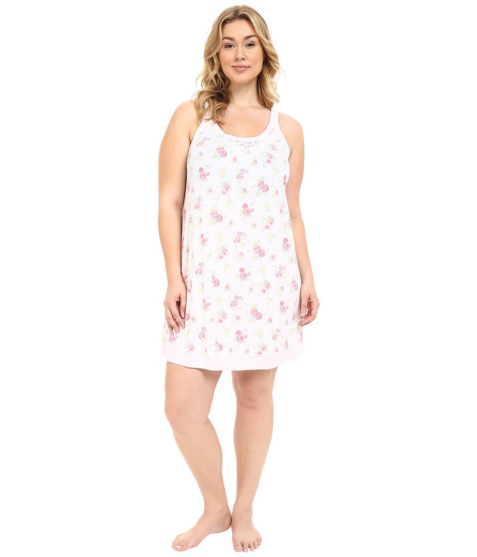 Carole Hochman - Plus Size Floral Chemise (Rose Meadow) Women's Pajama