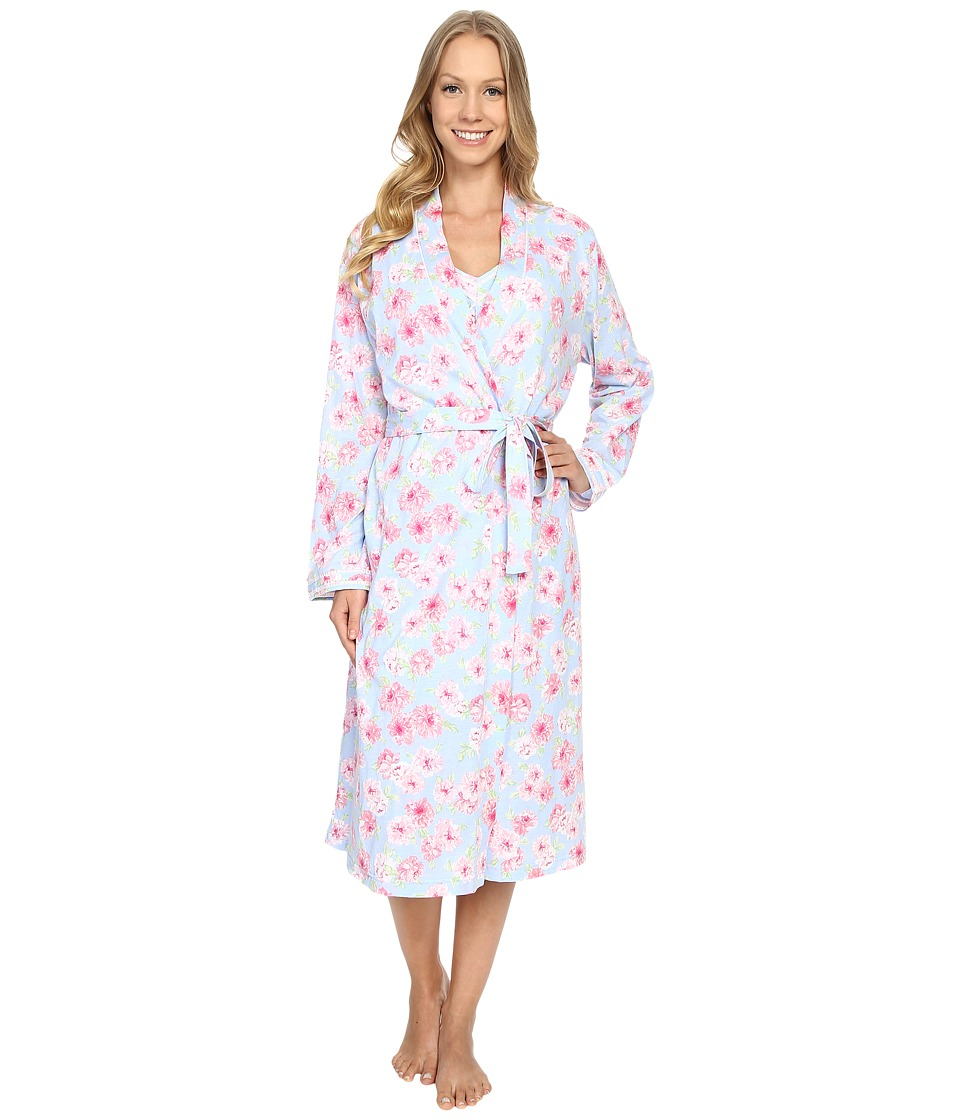 Carole Hochman - Robe Gown Set (Peony) Women's Pajama Sets
