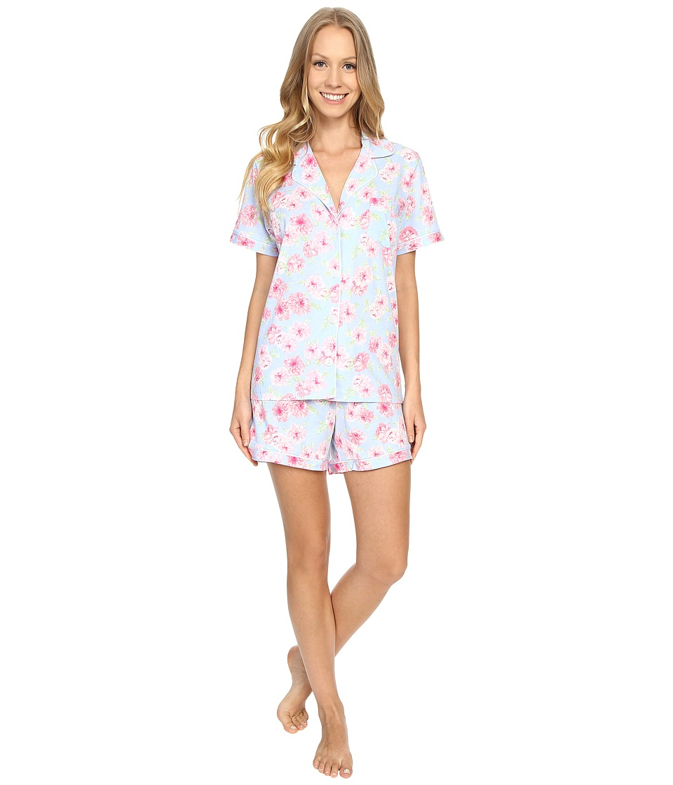 Carole Hochman - Boxer Pajama (Peony) Women's Pajama Sets