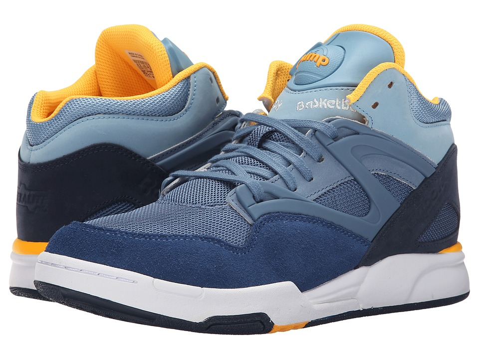 Reebok - Pump Omni Lite FP (Faux Indigo/Batik Blue/Blue Slate) Men's Shoes