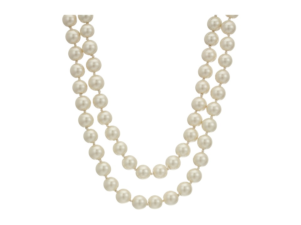 Kate Spade New York - Pearls of Wisdom Long Necklace (Cream Multi) Necklace