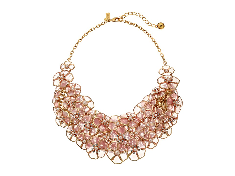 Kate Spade New York - Sunset Blossoms Statement Necklace (Blush Multi) Necklace