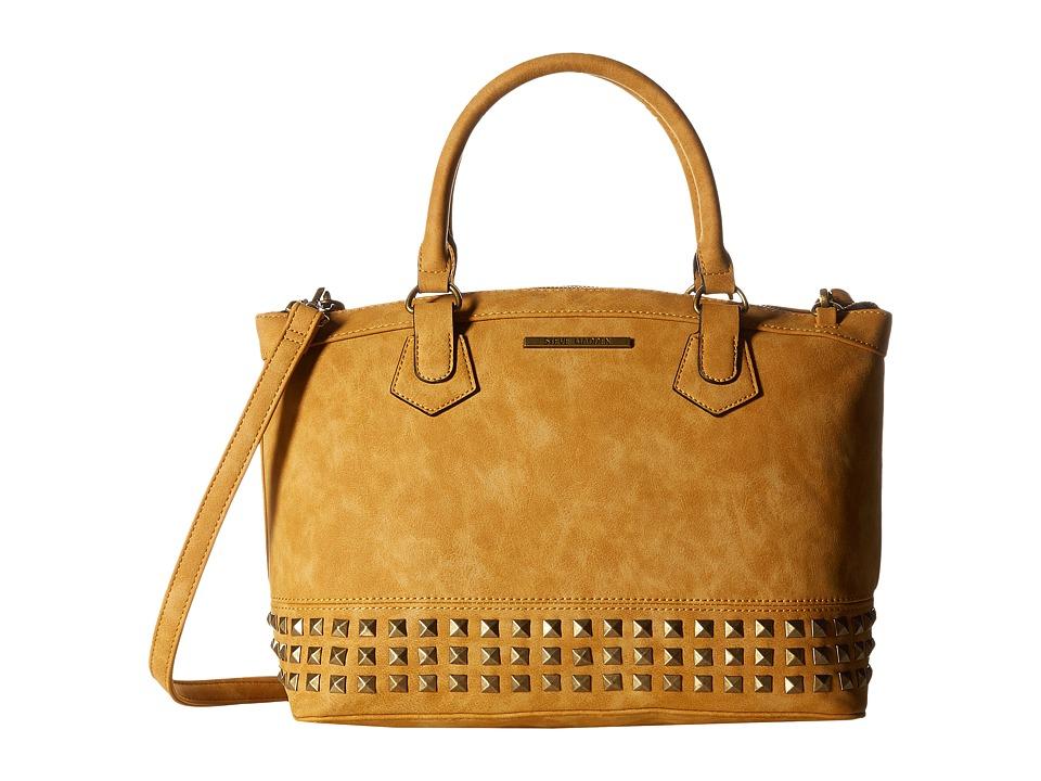 Steve Madden - Bmarco (Cognac) Satchel Handbags