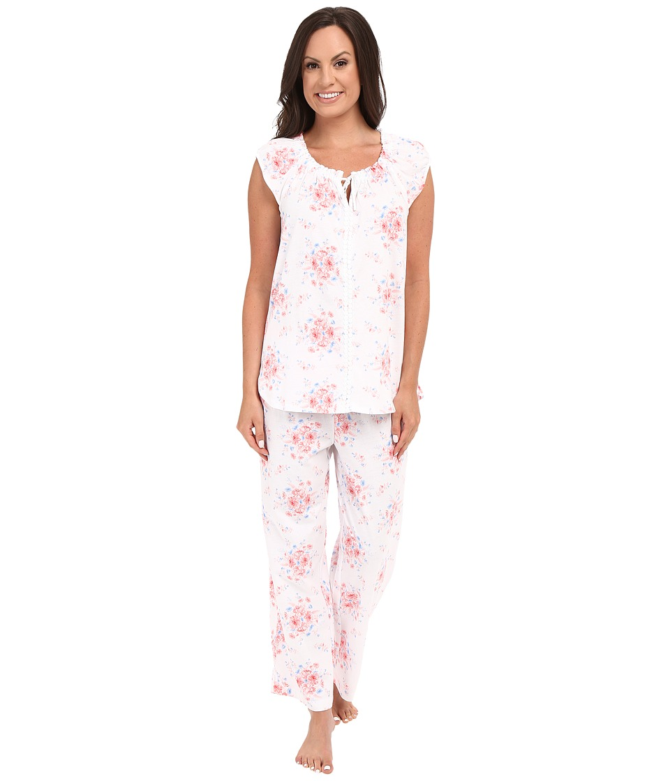 Carole Hochman - Cotton Printed Pajama (State Meadow) Women's Pajama Sets