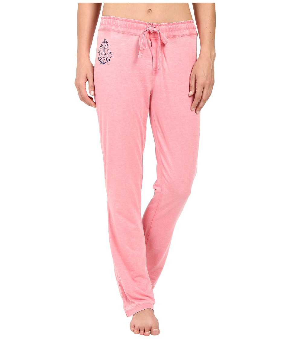 LAUREN Ralph Lauren - Long Pants (Coral) Women's Pajama