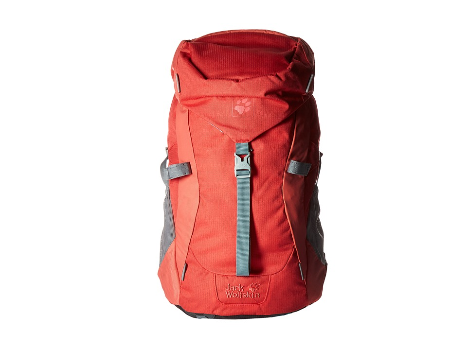 Jack Wolfskin - Kids Alpine Trail (Hibiscus Red) Handbags
