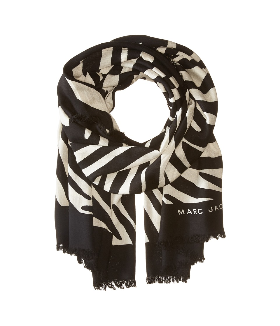 Marc Jacobs - Zebra Stole (Off-White Multi) Scarves
