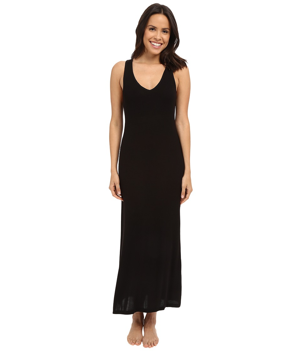 Midnight by Carole Hochman - Lounge Maxi (Black) Women's Pajama
