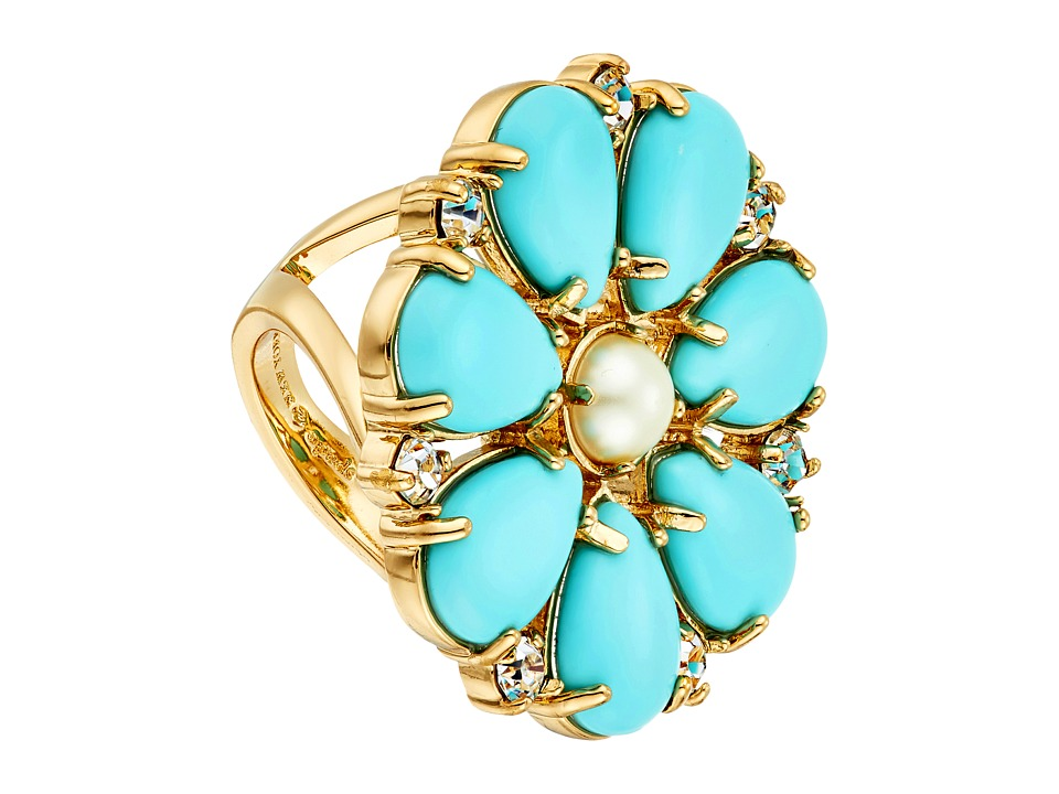 Kate Spade New York - Azure Allure Ring (Turquoise Multi) Ring