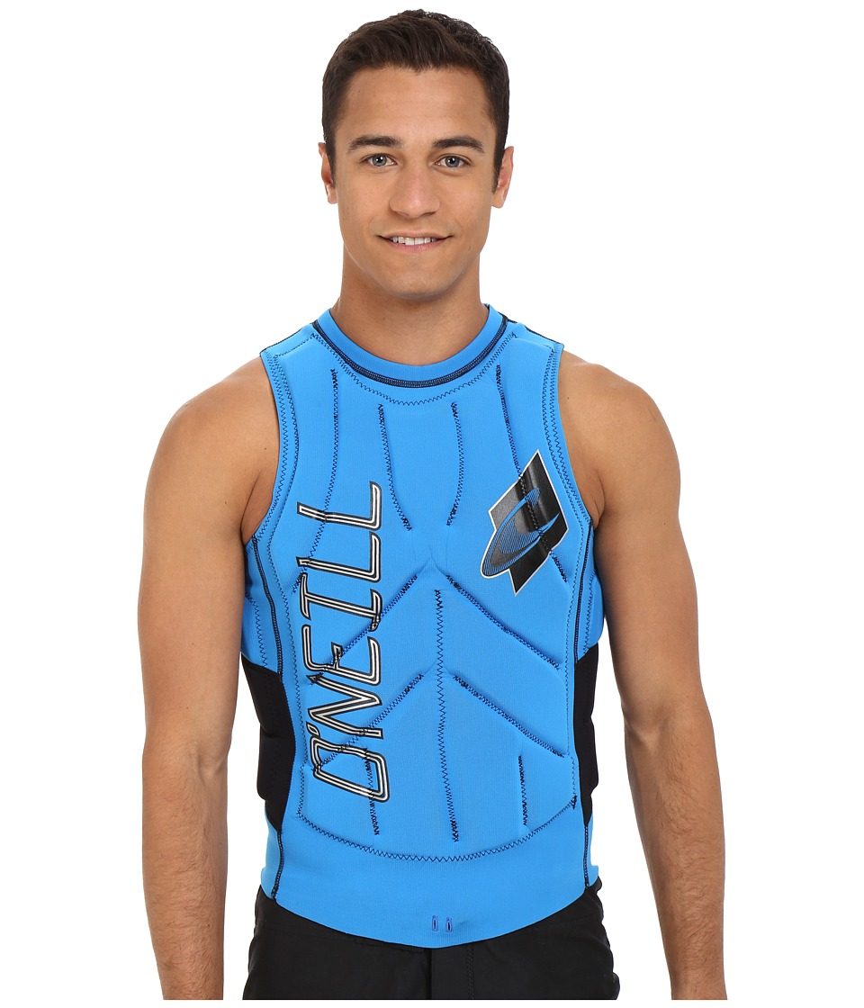 O'Neill - Gooru Tech Comp Vest (Brite Blue/Black) Men's Swimwear