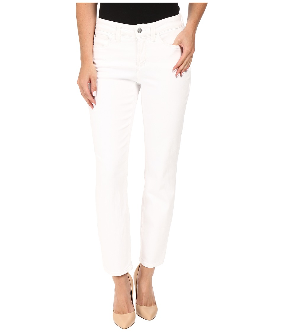 NYDJ - Clarissa Ankle (Optic White) Women's Casual Pants