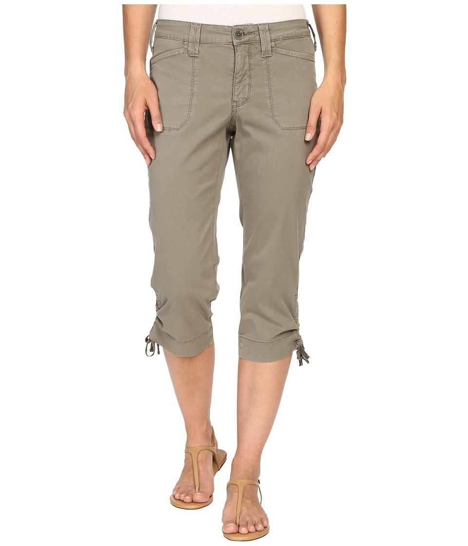 NYDJ - Abbie Crop (Sergeant Olive) Women's Casual Pants