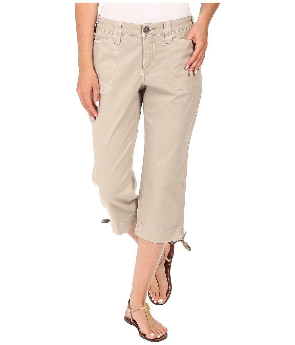 NYDJ - Abbie Crop (Soft Taupe) Women's Casual Pants
