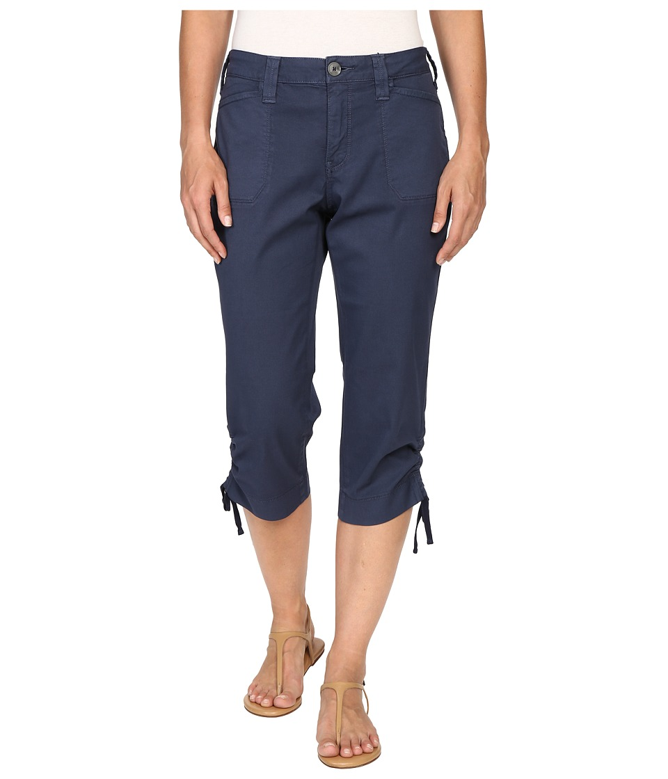 NYDJ - Abbie Crop (Commander Blue) Women's Casual Pants