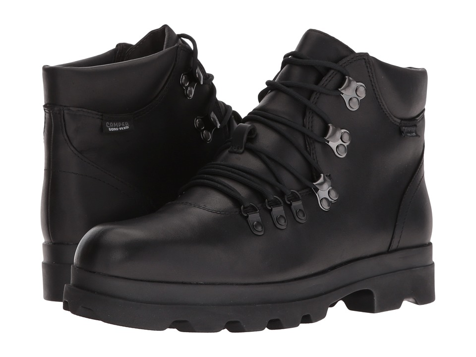 Camper - 1980 - K400146 (Black) Women's Lace-up Boots