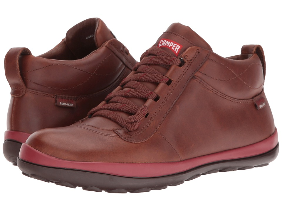 Camper - Peu Pista - 46829 (Brown) Women's Lace-up Boots