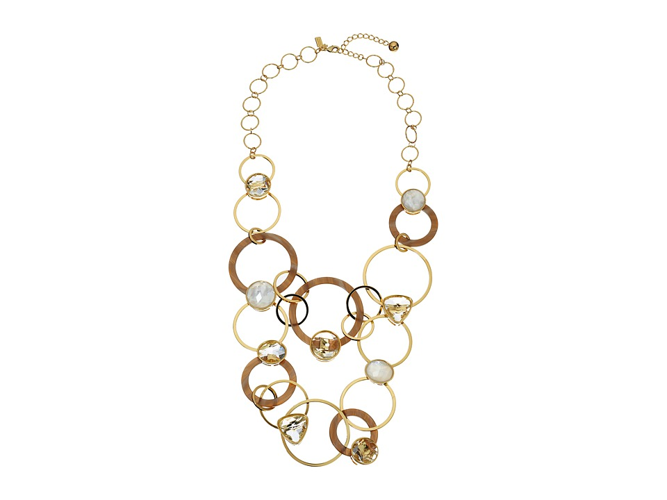 Kate Spade New York - Sun Kissed Sparkle Statement Necklace (Clear Multi) Necklace