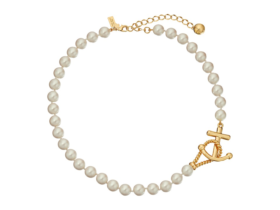 Kate Spade New York - Anchors Away Necklace (Cream) Necklace