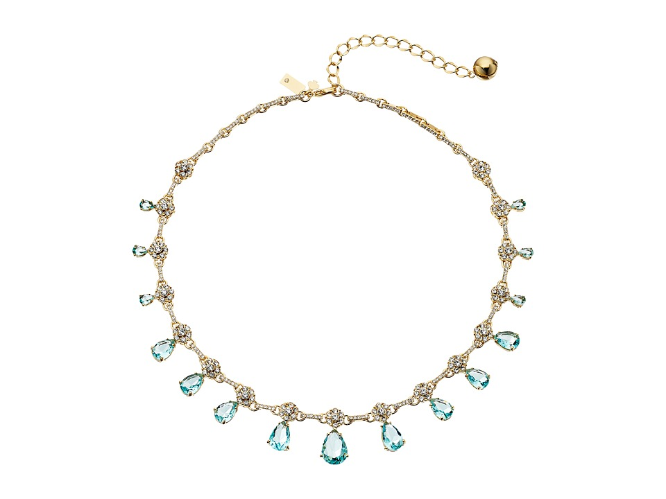 Kate Spade New York - Be Adorned Small Necklace (Blue Multi) Necklace