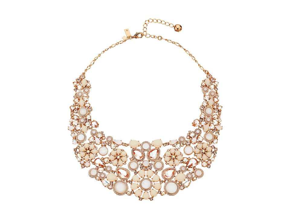 Kate Spade New York - Pearl Street July Statement Necklace (Blush Multi) Necklace