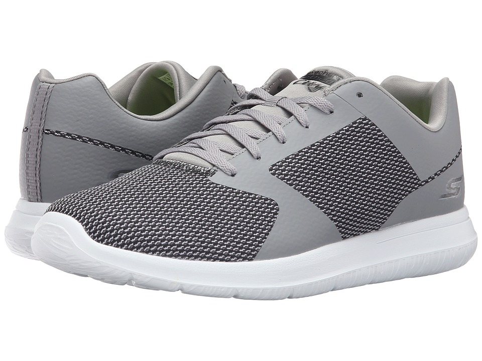 SKECHERS Performance Go Walk City Echo (Gray) Men