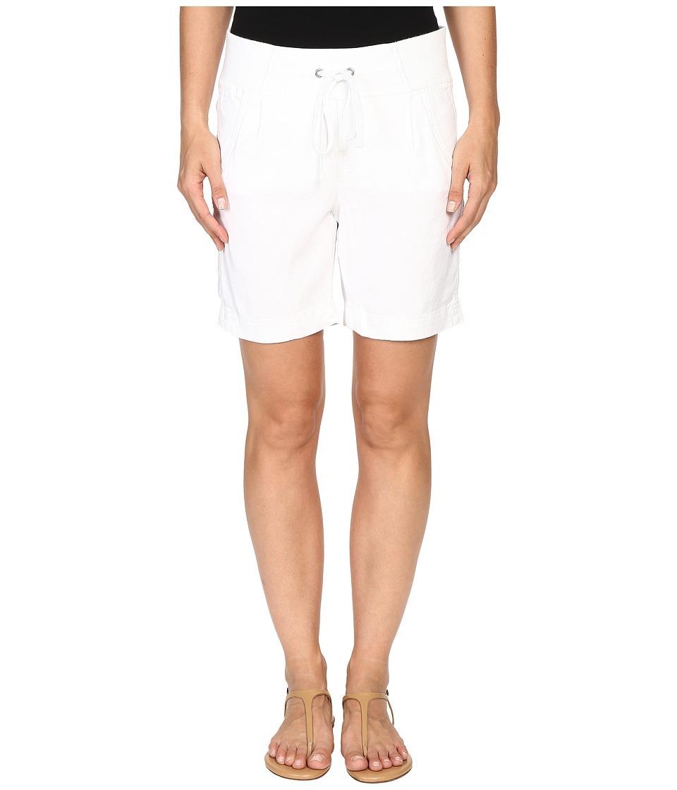 NYDJ - Candice Shorts (Optic White) Women's Shorts