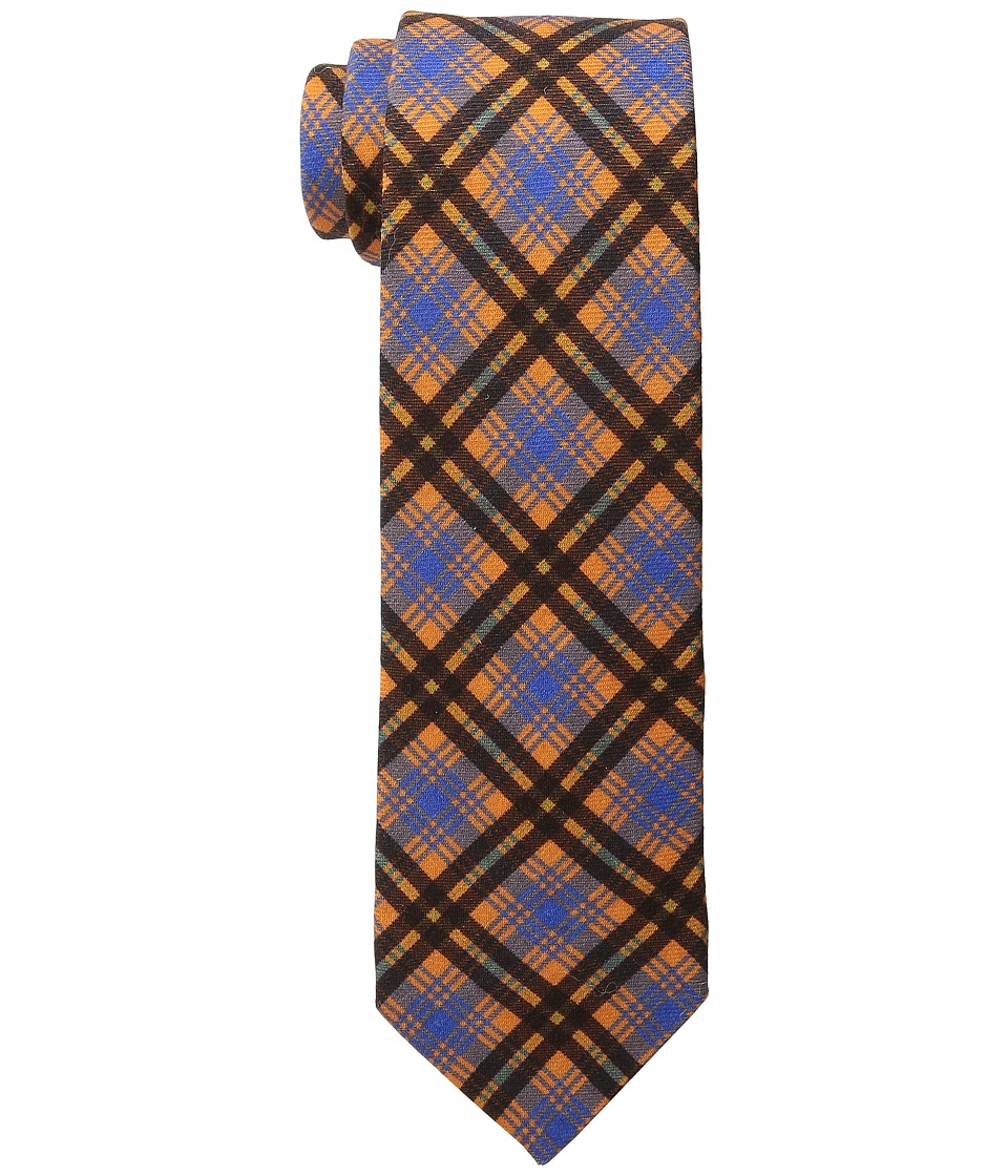 Ted Baker - St. James Plaid (Orange) Ties