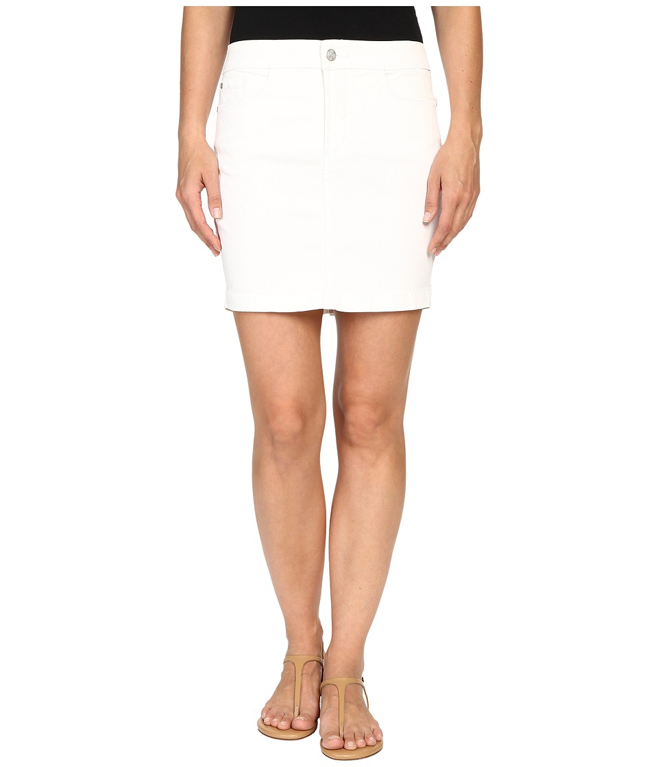 NYDJ - Emily Skirt (Spotless White) Women's Skirt