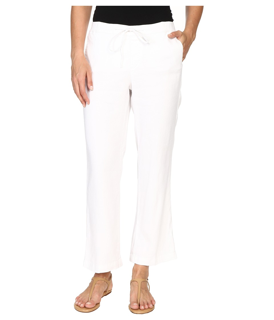 NYDJ - Jamie Relaxed Ankle (Optic White) Women's Casual Pants