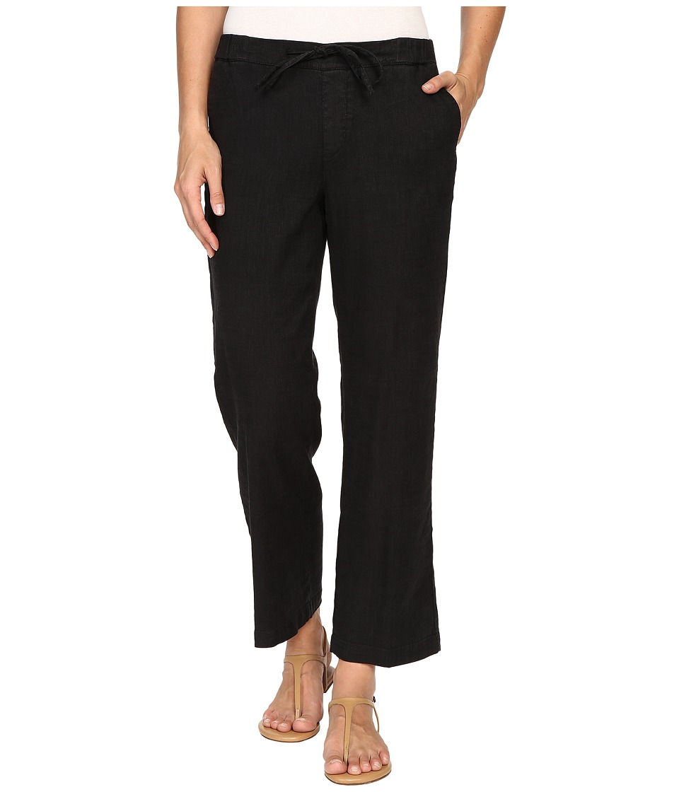 NYDJ - Jamie Relaxed Ankle (Black) Women's Casual Pants