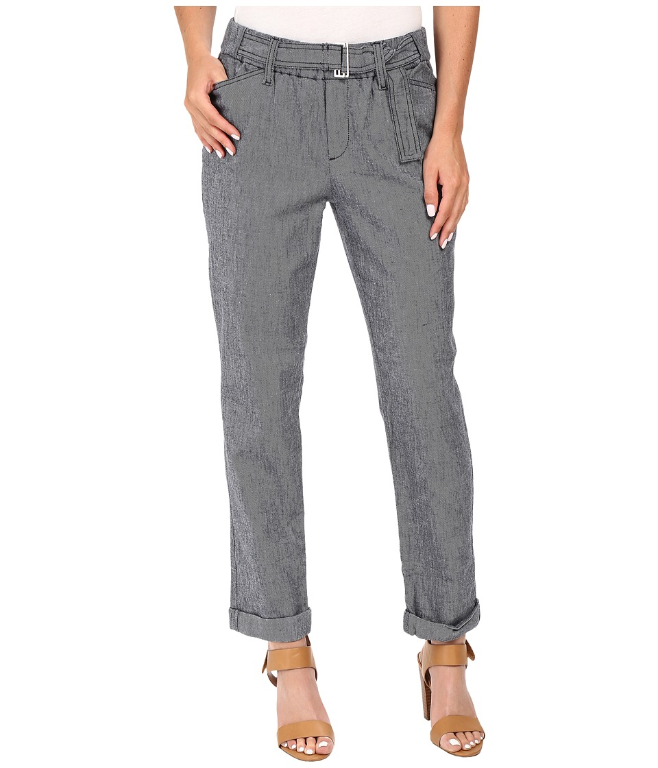 NYDJ - Jasmine Rolled Cuff Ankle (Navy) Women's Casual Pants