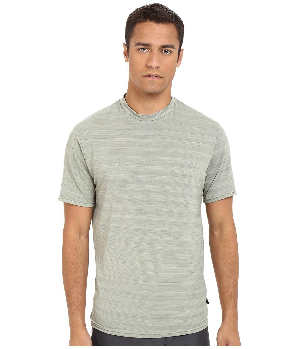 O'Neill - Hybrid Short Sleeve Surf Shirt (Light Olive) Men's Swimwear
