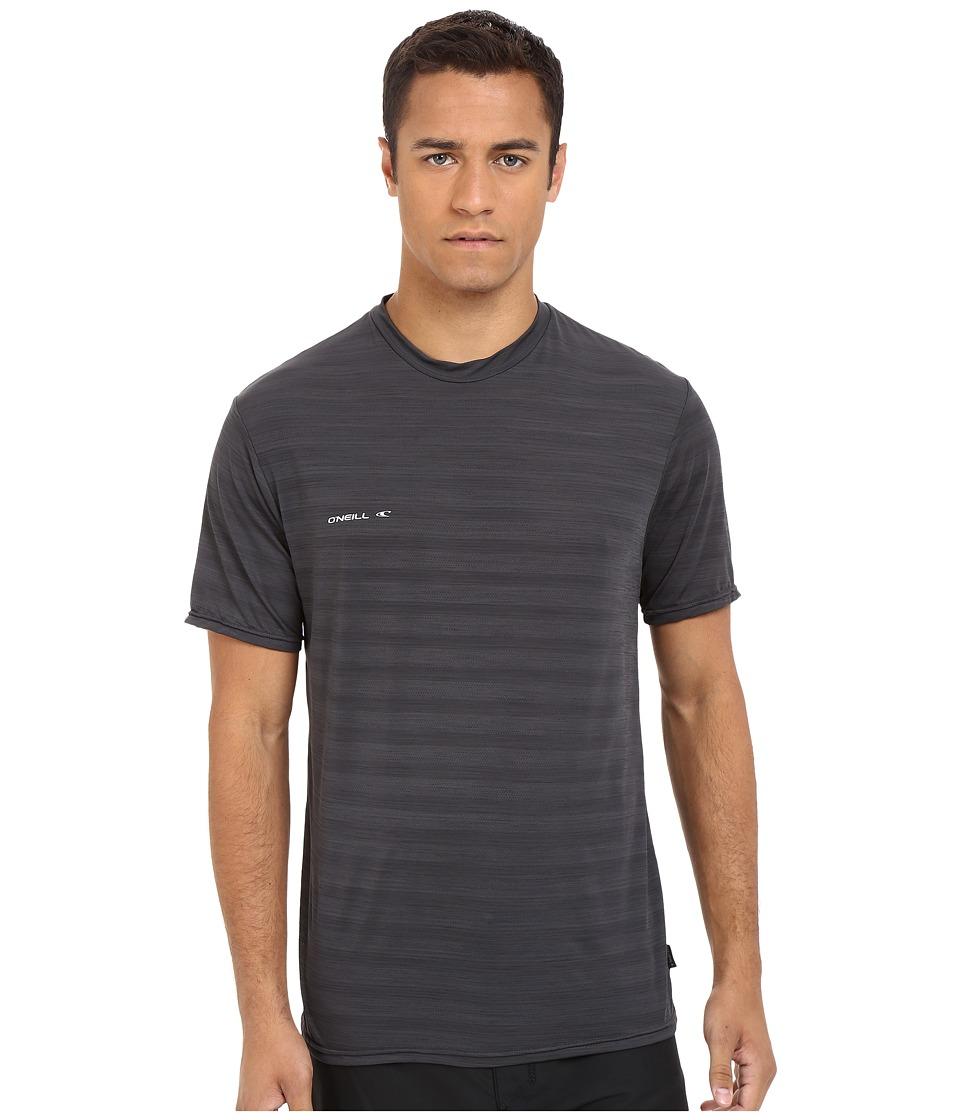 O'Neill - Hybrid Short Sleeve Surf Shirt (Graphite) Men's Swimwear