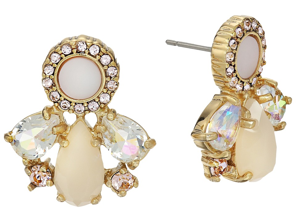 Kate Spade New York - Cluster Studs Earrings (Blush Multi) Earring