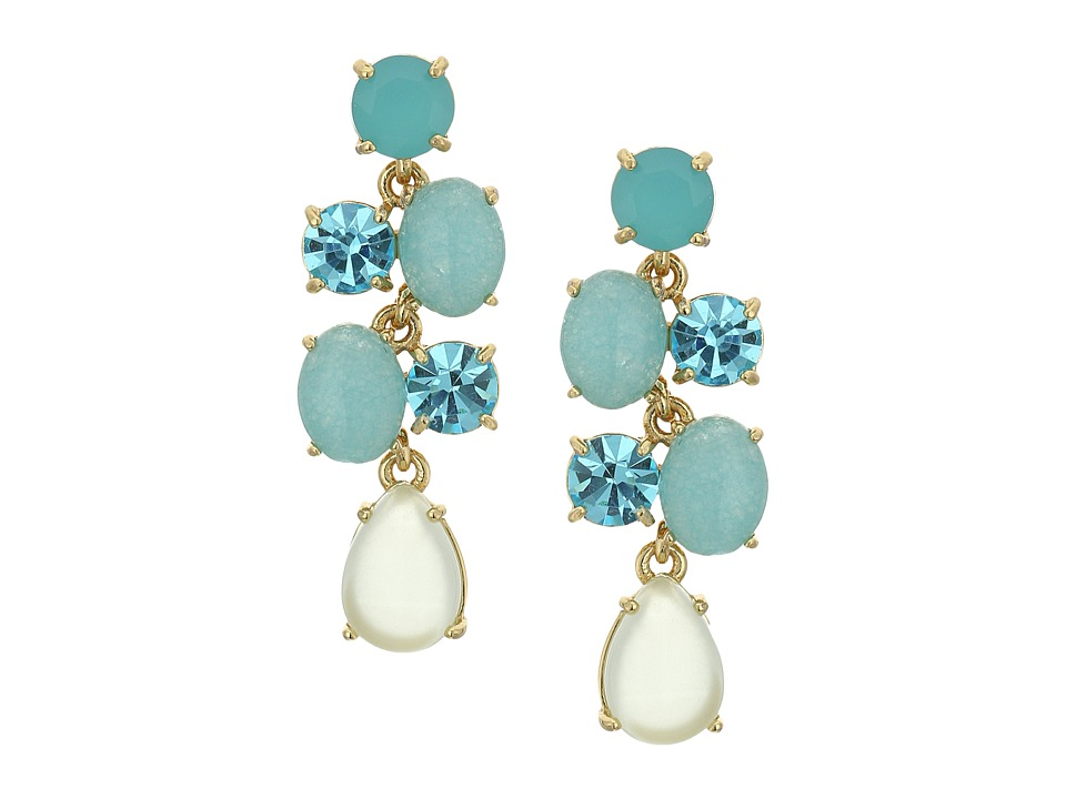 Kate Spade New York - Kate Spade Earrings Chandelier Earrings (Turquoise Multi) Earring