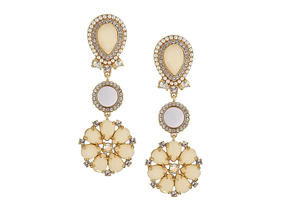 Kate Spade New York - Kate Spade Earrings Chandelier Earrings (Blush Multi) Earring