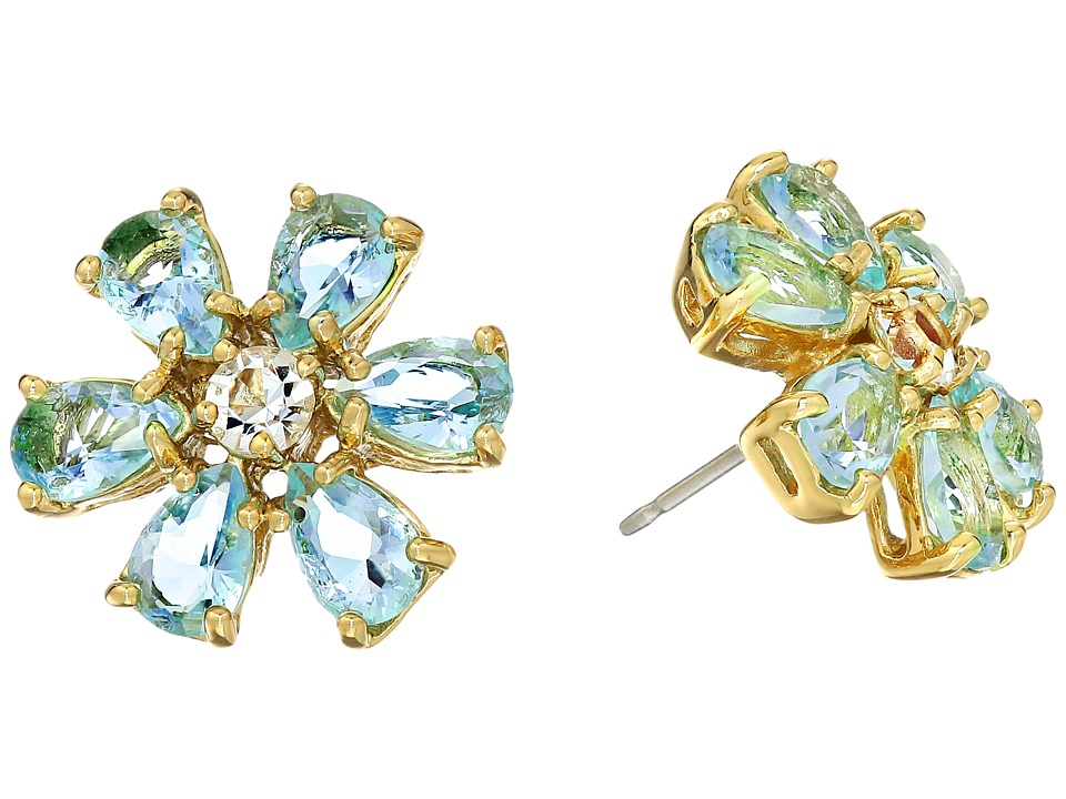Kate Spade New York - Lady Marmalade Studs (Blue Multi) Earring