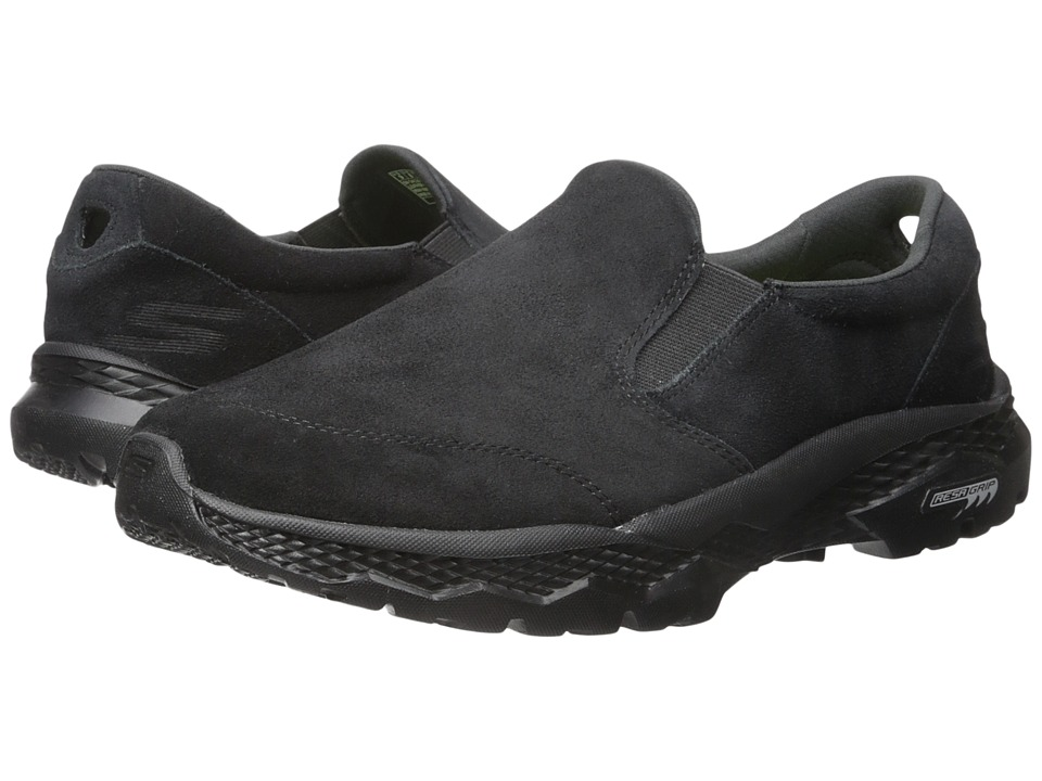 SKECHERS Performance - Go Walk Outdoor (Black) Men's Slip on Shoes